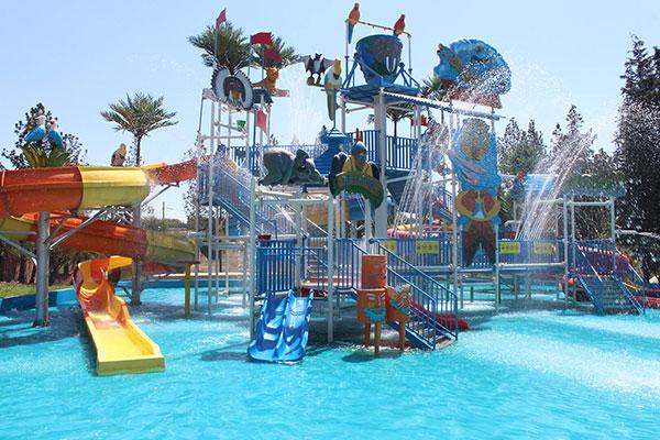 Happy Island Waterworld fibreglass pools